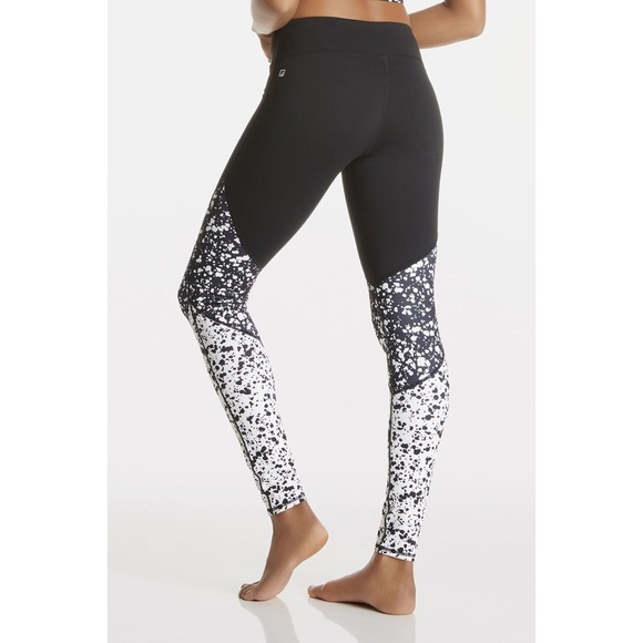 1d72b23ff5fc4 Fabletics Pants - Women's Fabletics black and white small leggings